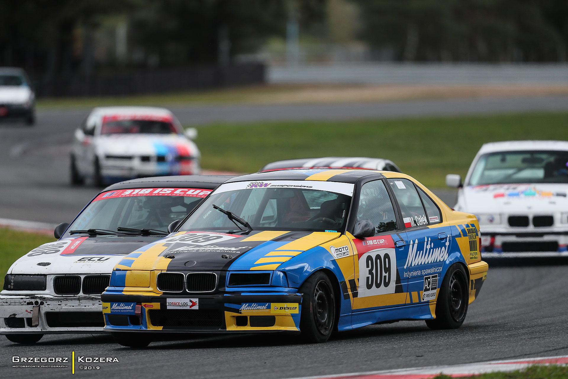 12 wyścigów 318IS Cup PL w 2020 roku